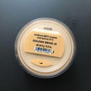Bare minerals foundation (Matte) - golden beige